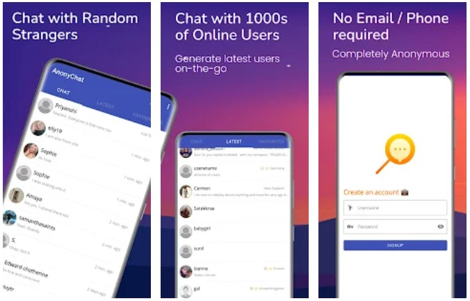 Anonychat App Android