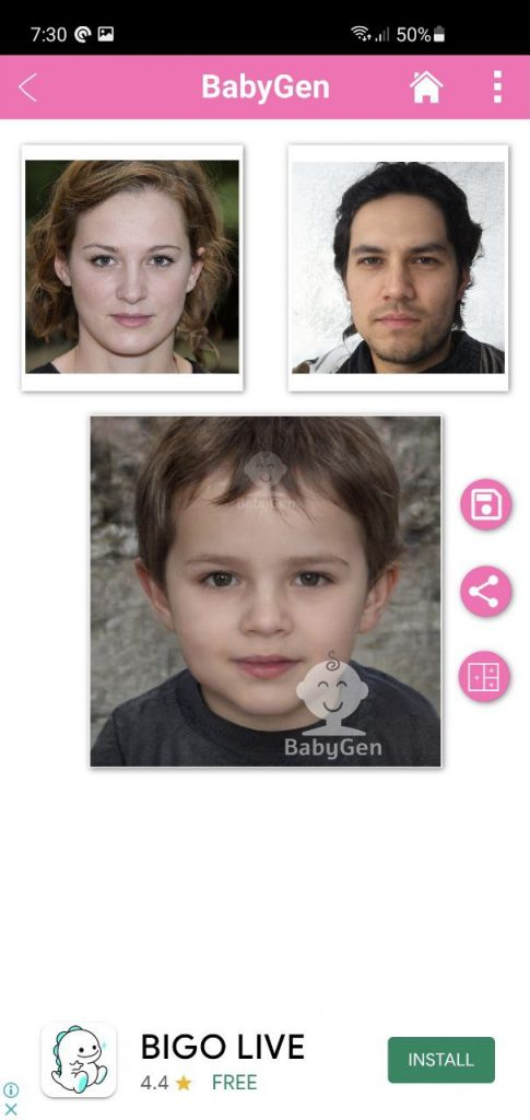 Babygen Result