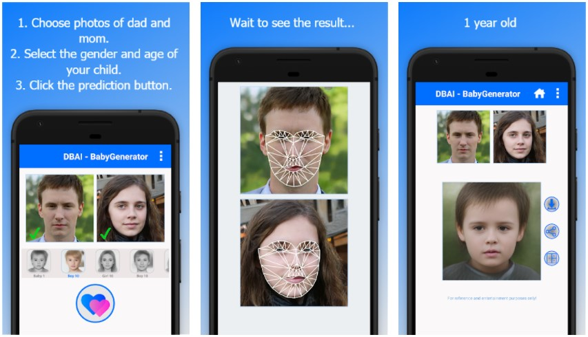 Babygenerator Predict Your Future Baby Face