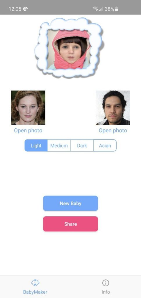 Babymaker Android Result