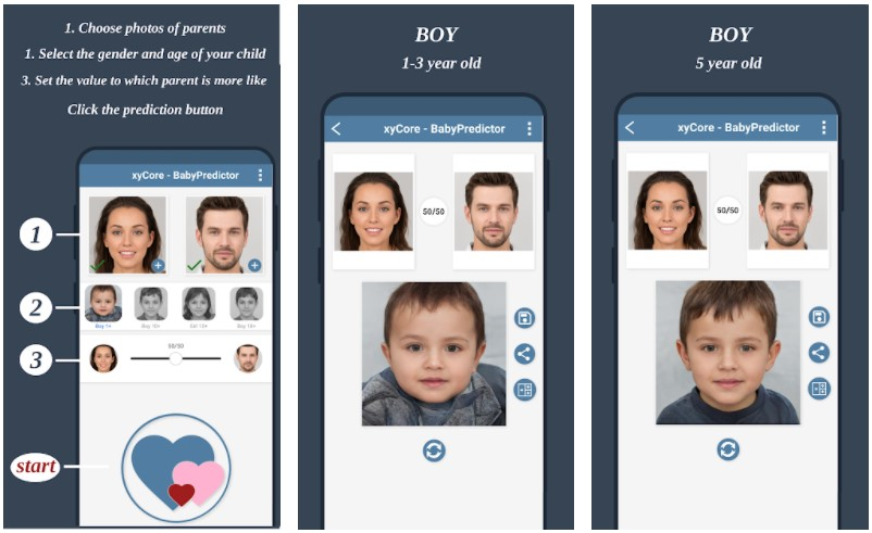Babypredictor Generate Your Future Baby Face