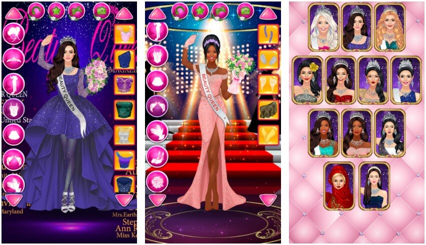 Beauty Queen Dress Up Android