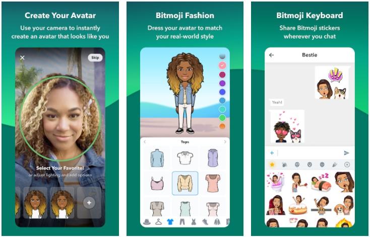 Bitmoji Android App