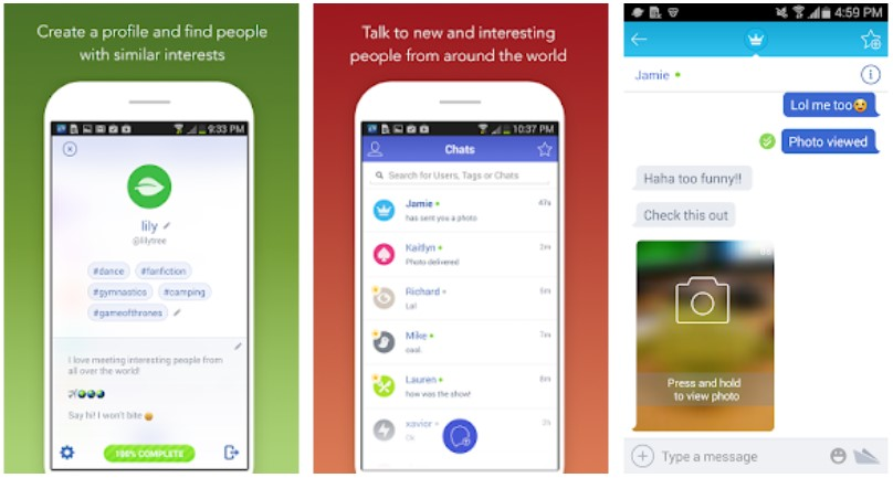 Chatous App Android