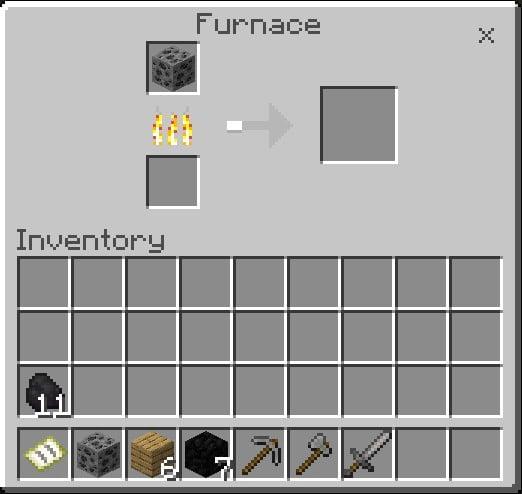 Coal Ore Will Burnt