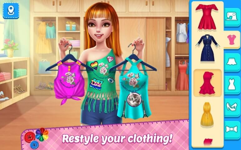 Diy Fashion Star Android Game