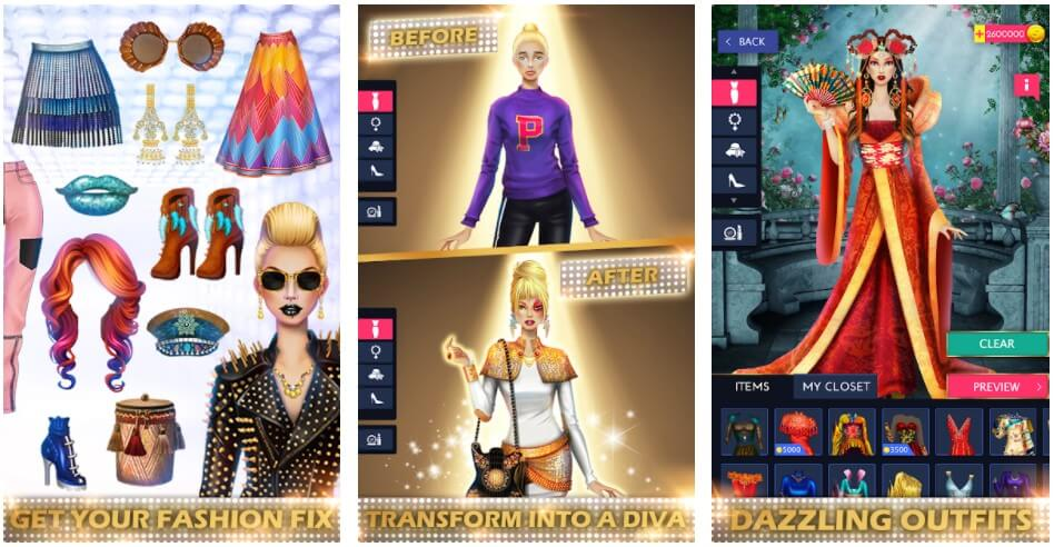 Fashion Diva Dress Up Game Android