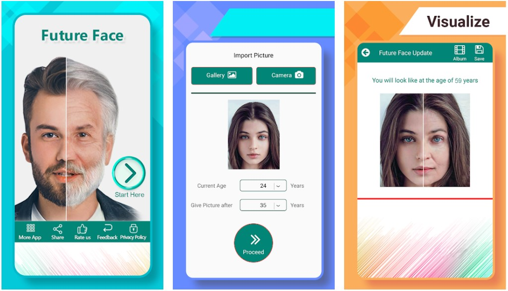 Future Face App Android