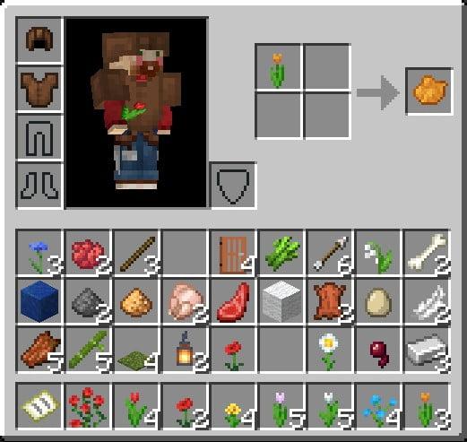 How To Make An Orange Dye In Minecraft Using Orange Tulip