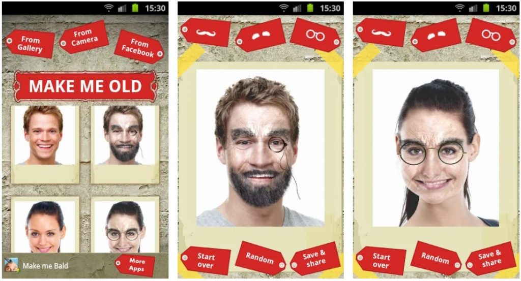 Make Me Old App Android