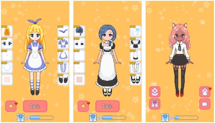 Momos Dress Up Android