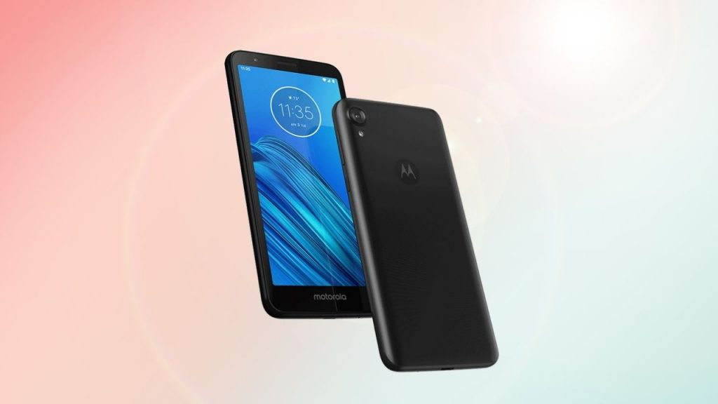 Motorola Moto E6 User Guide