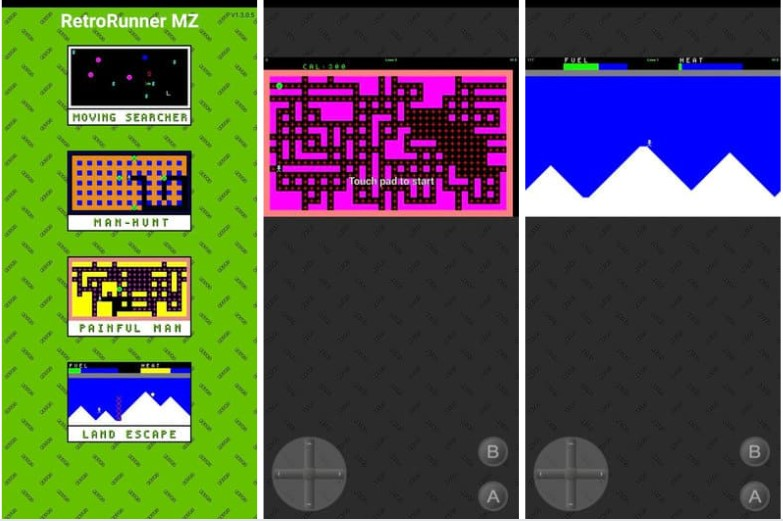 Retro Runner Mz Game Android