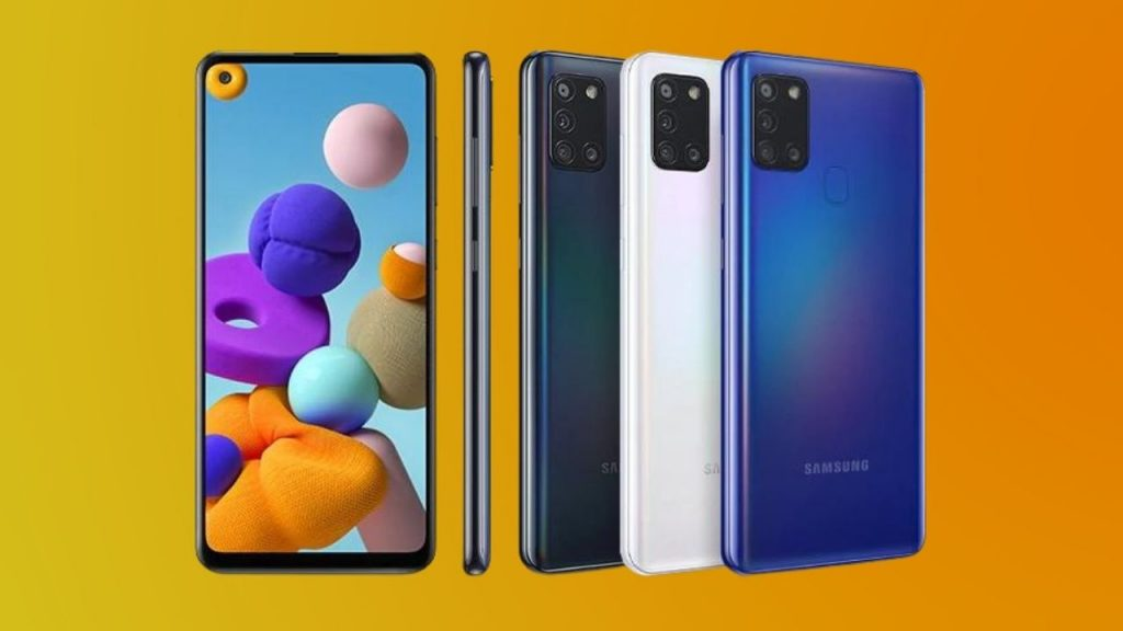 Samsung Galaxy A21S User Manual