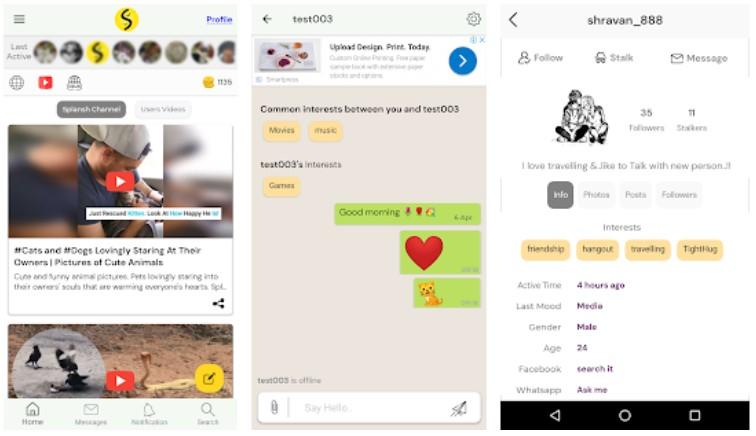 Splansh App Android