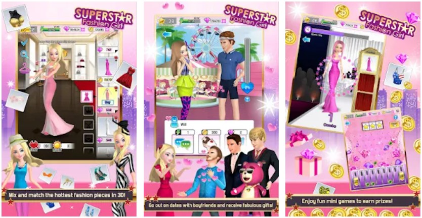 Superstar Fashion Girl Game Android