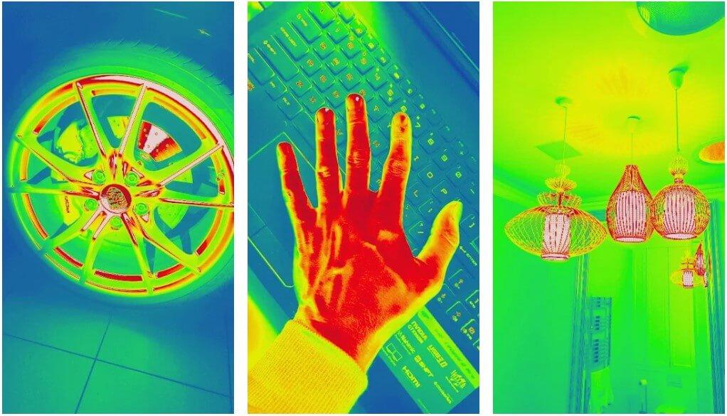 Thermal Camera Photo Filter Simulator App Android