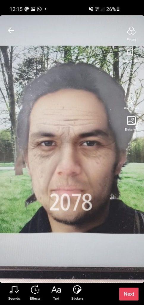 Tiktok Filter 2078