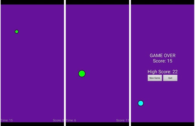 Touch Reflex Android Game