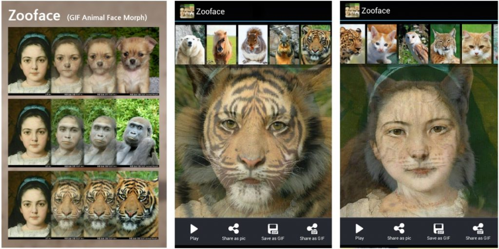 Zooface App Android